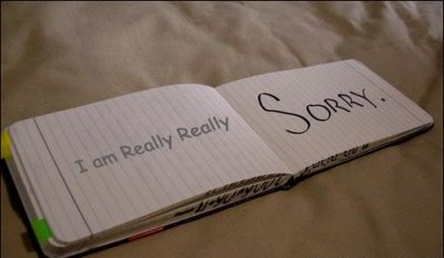 I Am Really Really Sorry ~ Apology Quote