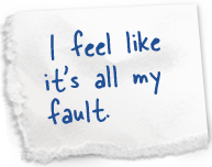 I Feel Like It's All My Fault ~ Apology Quote