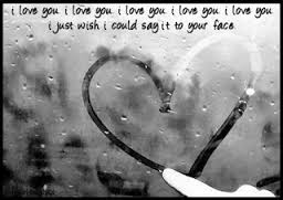 I Love You, I Just Wish I Could Say It To Your Face