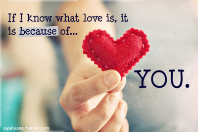 If I Know What Love Is, It Is Because of You ~ Apology Quote Picture
