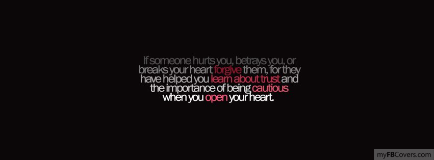 If Someone Hurts You