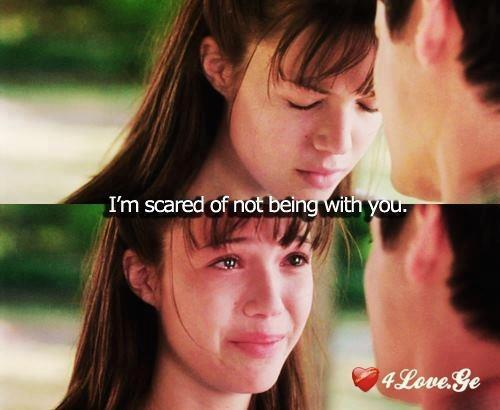 I'm Scared Of Not Being With You