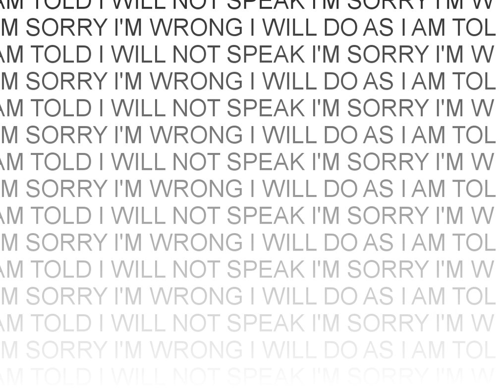 I'M Wrong ~ Apology Quote