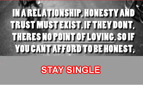 quotes on honesty and trust in a relationship