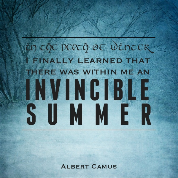 Albert Camus Summer Quote: A Short Update On The Energies