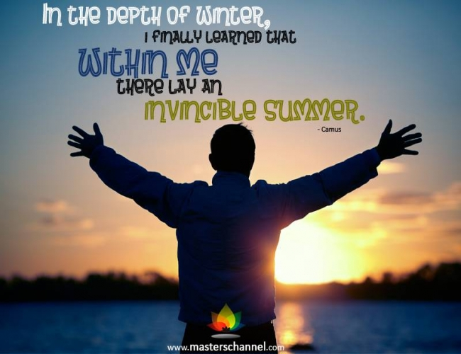 In The Depth Of Winter, I Finally Learned That. Within Me There Lay An Invincible Summer