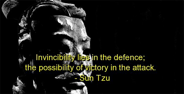 Invincibility Less In The Defence The Possibility Of Victory In The Attack