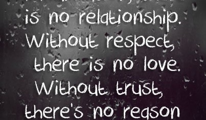 In Relationships, The Only Way To Trust Is Not To Ask Too Many Questions