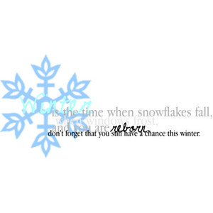 Is The Time When Snowflakes Fall