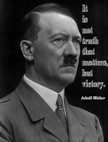 It Is Not Truth That Matters, But Victory