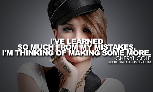 I've Learned So Much From My Mistakes. I'M Thinking Of Making Some More ~ Apology Quote