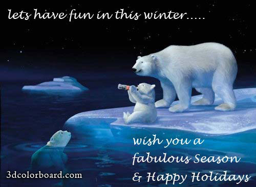 Lats Have Fun In This Winter, Wish You A Fabulous Season & Happy Holidays