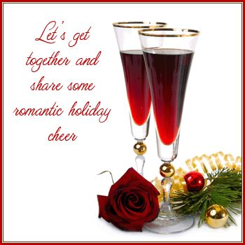 Let's Get Together And Share Some Romantic Holiday Cheer