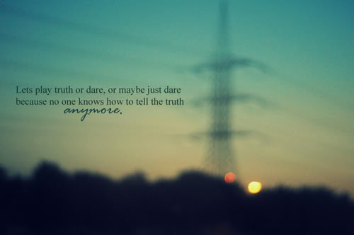 Lets Play Truth And Dare
