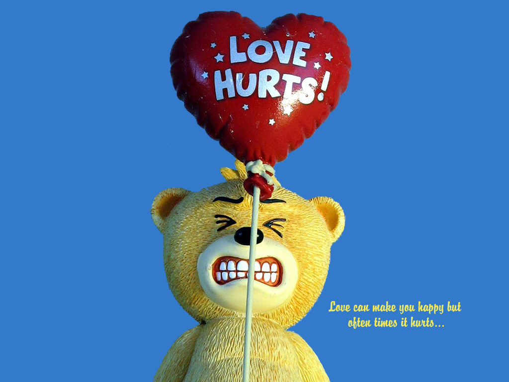 Love Can Make You Happy But Often Times It Hurts