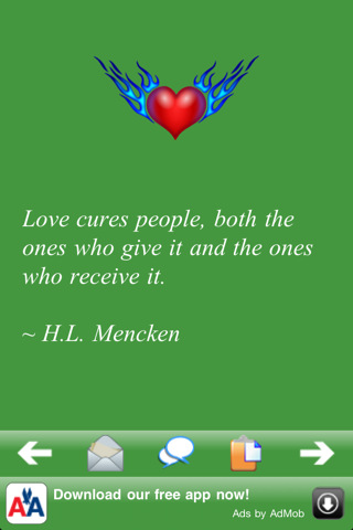 Love Cures People, Both The Ones Who Give It And The Ones Who Receive It