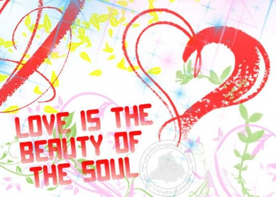 Love Is The Beauty Of The Soul