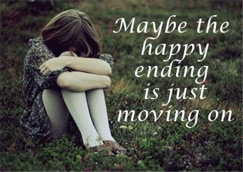 Maybe The Happy Ending Is Just Moving On