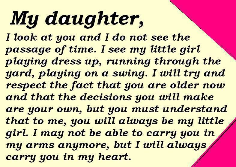 Daughter Quotes Pictures and Daughter Quotes Images with Message - 8