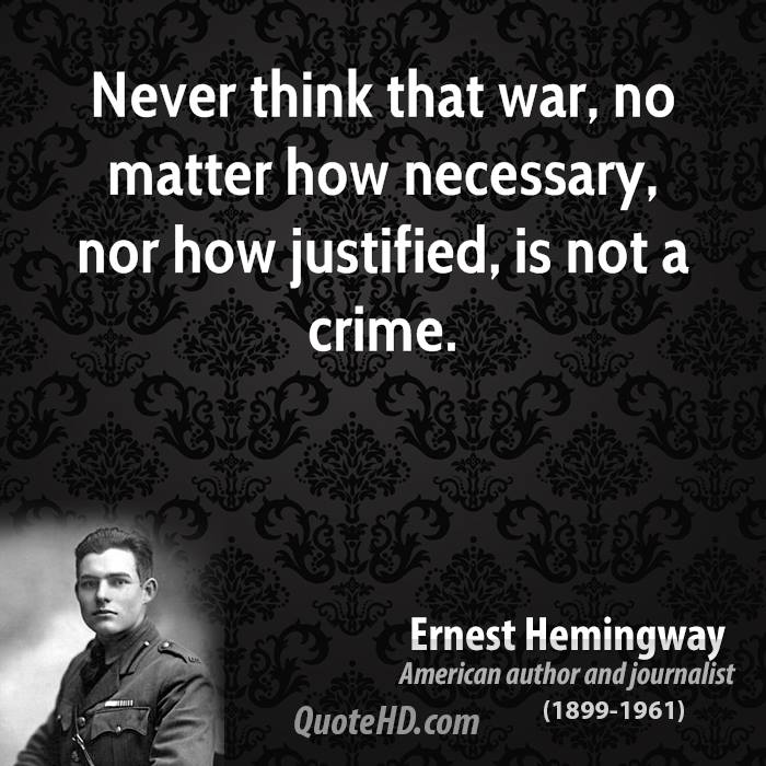 war is not necessary Evils of wars : there is no doubt that war is an evil one it is the greatest catastrophe that can befall human beings it brings death and destruction but though war is an evil, we must recognize the fact that it is a necessary, inescapable evil.