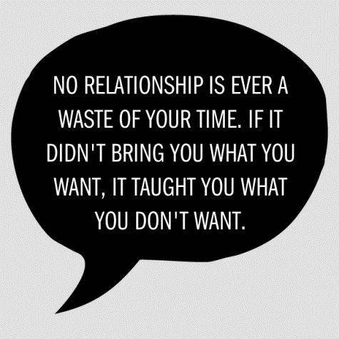 No Relationships Is Ever A Waste Of Your Time, If It Didn't Bring You What You Want, It Taught You What You Don't Want