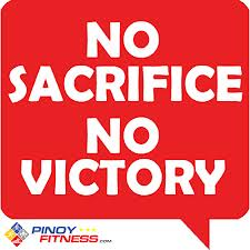No Sacrifice No Victory