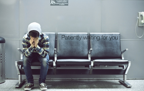 Patiently Waiting For You