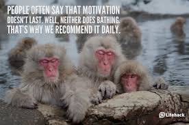 People Often Say That Motivation Doesn't Last Well, Neither Does Bathing That's Why We Recommend It Daily