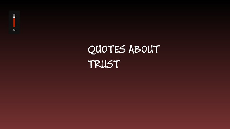 quotes about trust - photo #18