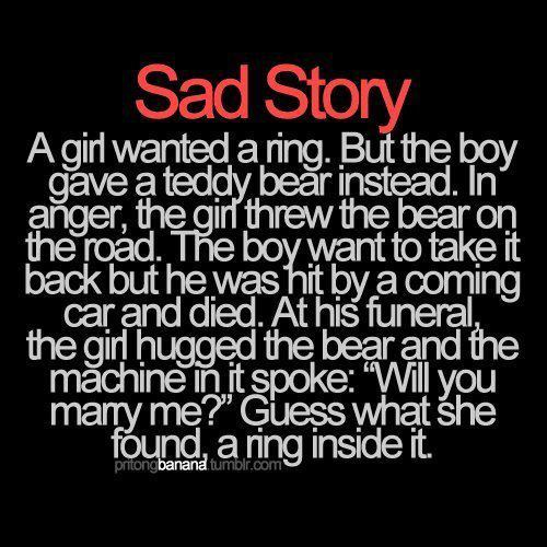Sad Love Story - Quotespictures com