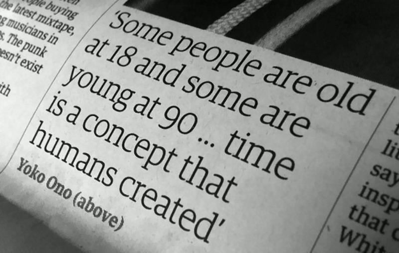 'Some People Are Old At 18 And Some Are Young At 90 Time Is A Concept That Humans Created'