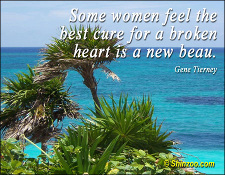 Some Women Feel The Best Cure For a Broken Heart Is a New Bean