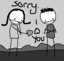 Sorry I Love You ~ Apology Quote