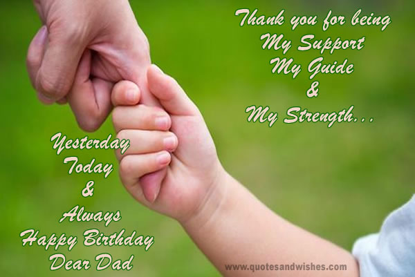 Thank You For Being My Support My Guide & My Strength, Yesterday Today & Always Happy Birthday Dear God