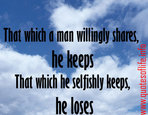 Quotes About Men Being Selfish
