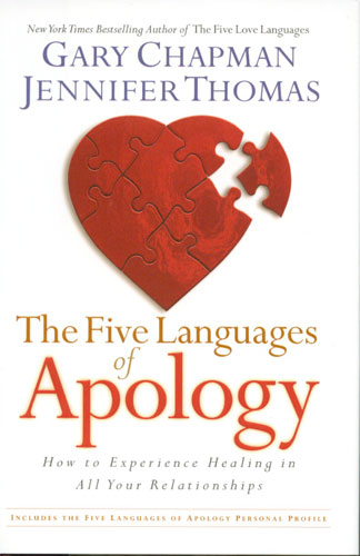 The Five Languages Of Apology ~ Apology Quote