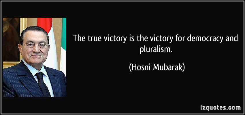 The True Victory Is The Victory For Democracy And Pluralism