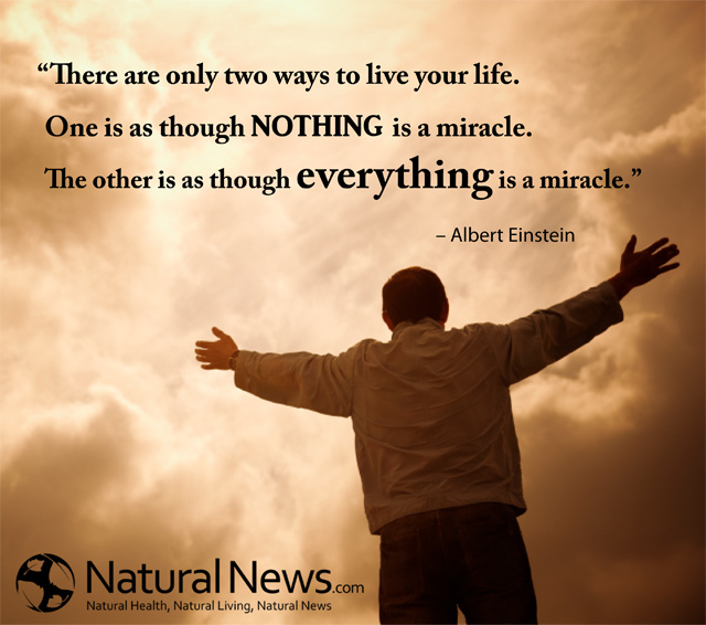 There Are Only Two Ways To Live Your Life One Is As Though NOTHING