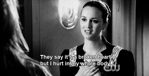 They Say It's Broken Heart But I Hurt In My Whole Day