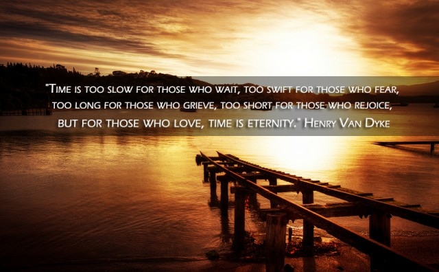 Time Is Too Slow For Those Who Wait