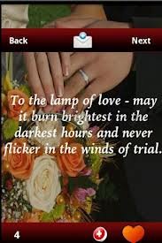 To The Lamp Of Love May It Burn Brighest In The Darkest Hours And Never Flicker In The Winds Of Trial