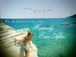 We All Deserve Our Own Happily Ever After