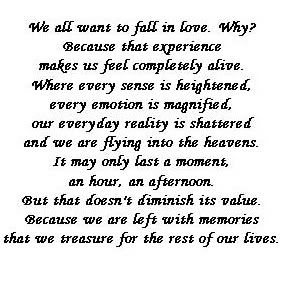 We All Want To Fall In Love, Why! Because That Experience Makes us Feel Completely Alive