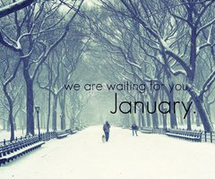 We Are Waiting For You January