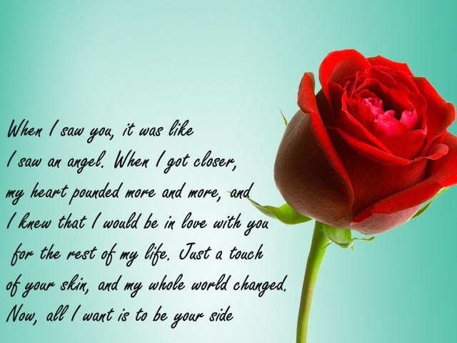 my love of my life poem