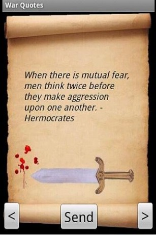 When There Is Mutual Fear, Men Think Aggression Upon  One Another