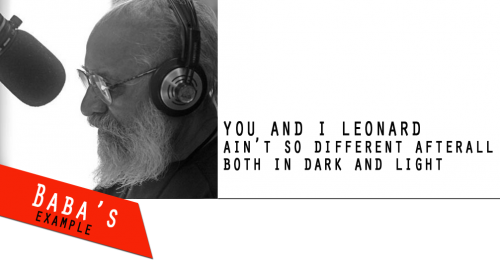 You And I Leonard Ain'T So Different Afterall Both In Dark And Light