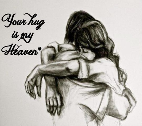 Your Hug Is My Heaven
