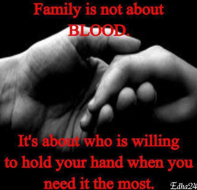 Friends Are Family Blood Quotes. QuotesGram