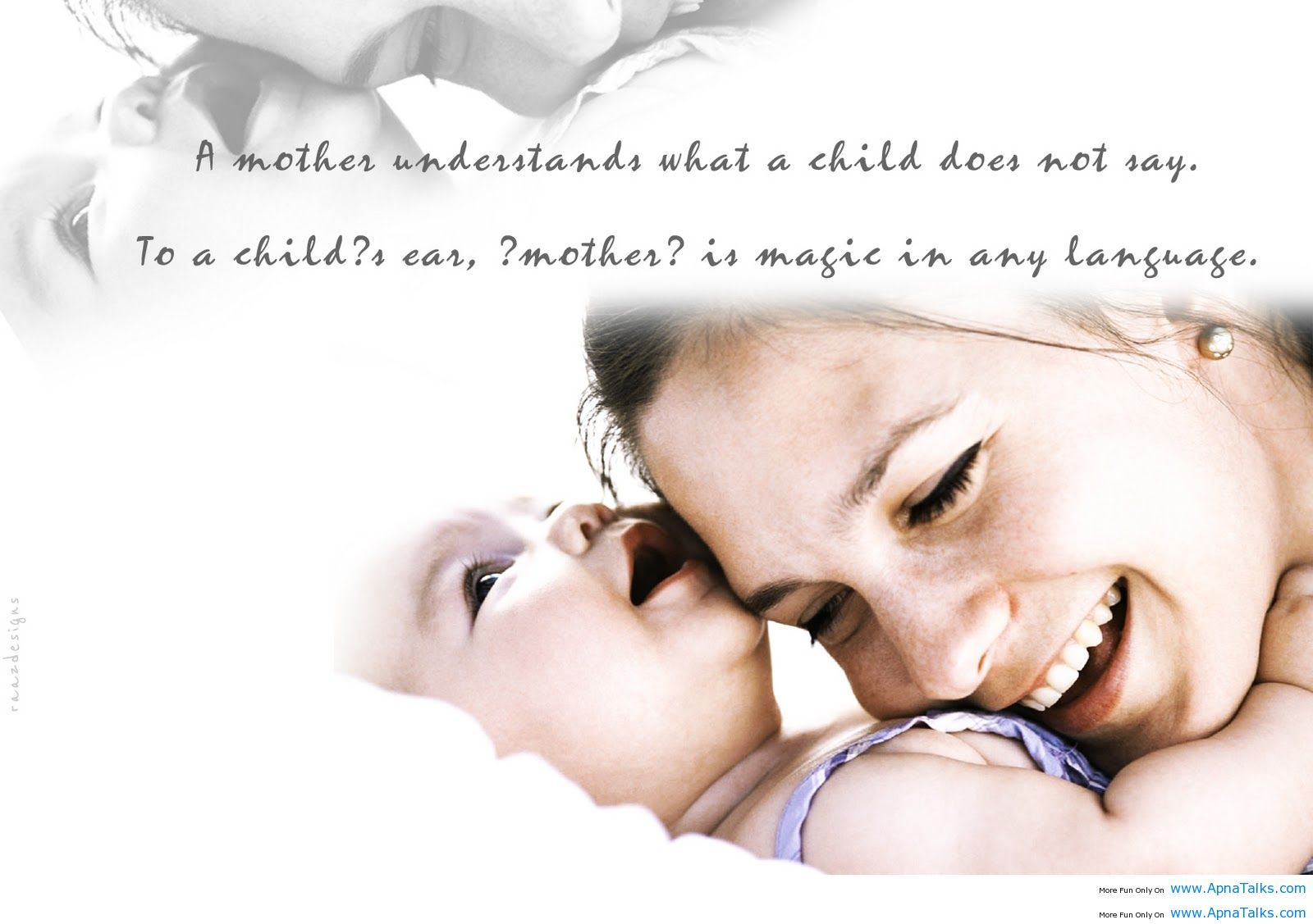 Love Quotes For Children Only A Mother's Love Understands Our Tears And Soothes Our